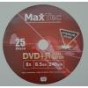 // Диски DVD+R DL MaxTec 8. 5 Gb 240 min 8x //